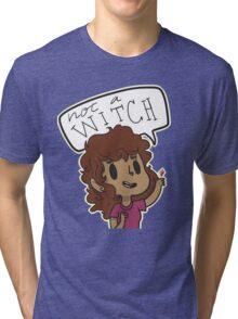 Not a Witch Tri-blend T-Shirt