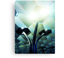 Fed Square Abstract 2 Canvas Print