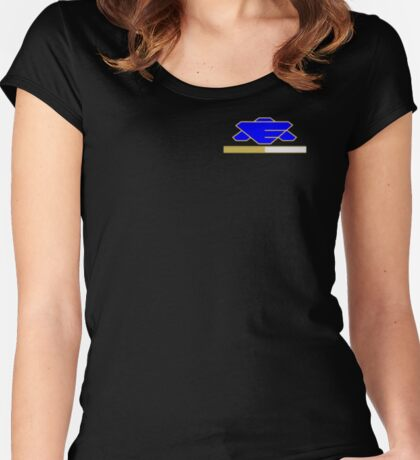 Babylon 5 - Earth Alliance - Executive Officer Women's Fitted Scoop T-Shirt
