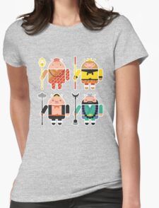 Droid Journey to the West Womens Fitted T-Shirt