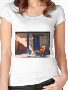 On the Porch Women's Fitted Scoop T-Shirt