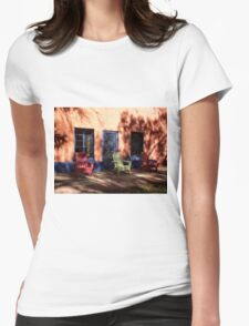 Sit Back and Relax Womens Fitted T-Shirt