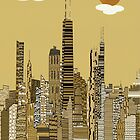 chicago city  by bri-b