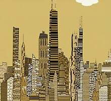 chicago city  by bri-b