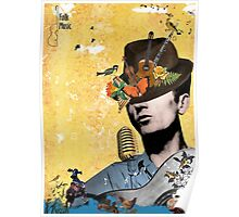 Folk and country music Poster