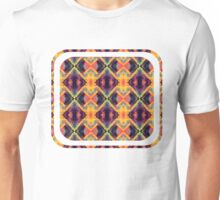 Ornate Polygon Mosaic 25 Unisex T-Shirt