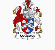 McClintock Coat of Arms / McClintock Family Crest Unisex T-Shirt