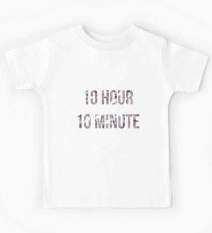 10 Hour 10 Minute-Hoshi Kids Tee