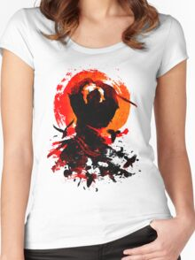 Samurai Clash Women's Fitted Scoop T-Shirt