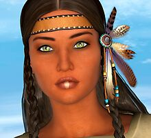 Native American Woman by Vac1