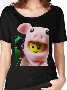 Piggy Guy Women's Relaxed Fit T-Shirt