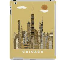 chicago city  iPad Case/Skin