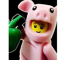 Piggy Guy Photographic Print