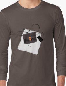 Black bag {Celine} #FASHION #CELINE Long Sleeve T-Shirt