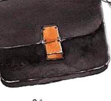 Black bag {Celine} #FASHION #CELINE Sticker