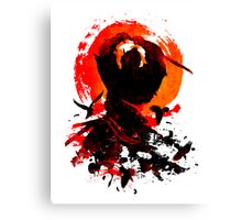 Samurai Clash Canvas Print