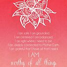 Root Chakra Affirtmation by CarlyMarie