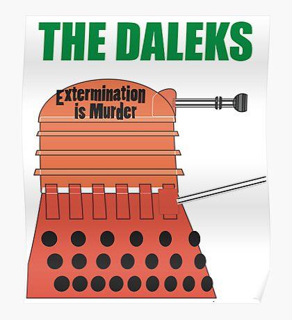 Extermination is Murder Poster
