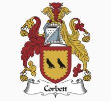 Corbett Coat of Arms / Corbett Family Crest Kids Clothes