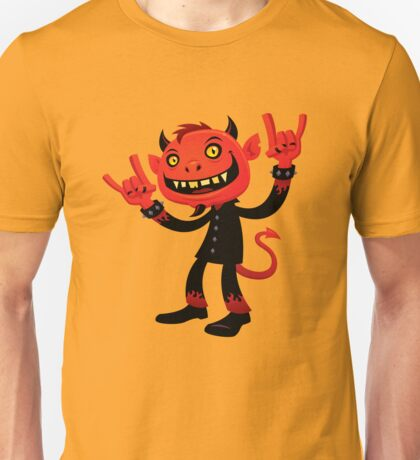 Heavy Metal Devil Unisex T-Shirt