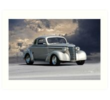 1937 Chevy Coupe 'Stormy Day' Art Print