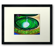 Mother Nature and the Green Man Framed Print