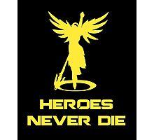 Mercy / Heroes Never Die Photographic Print