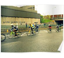 cyclists Poster