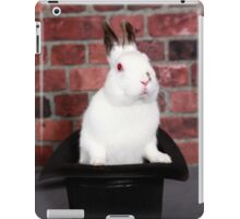 Rabbit out of a hat iPad Case/Skin