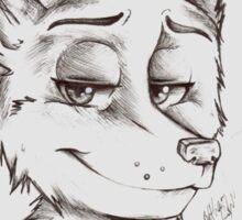 Clever Fox Sticker