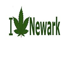I Love Newark by Ganjastan