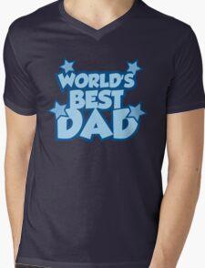 World's Best Dad Mens V-Neck T-Shirt