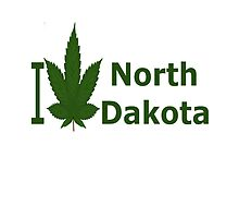 I Love North Dakota by Ganjastan
