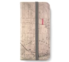 Toronto Map 1880 iPhone Wallet/Case/Skin