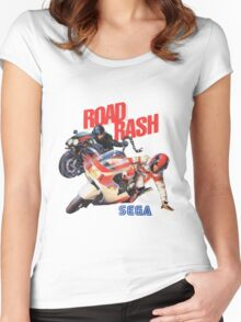 Road Rash - Sega Genesis  Women's Fitted Scoop T-Shirt