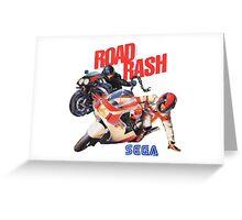 Road Rash - Sega Genesis  Greeting Card
