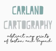Carland Cartography Logo One Piece - Long Sleeve