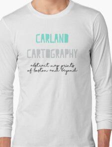 Carland Cartography Logo Long Sleeve T-Shirt