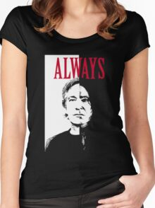 snape Women's Fitted Scoop T-Shirt