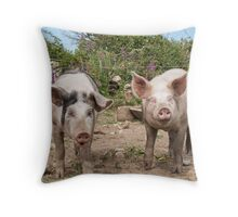 Bacon&Sausage  Throw Pillow