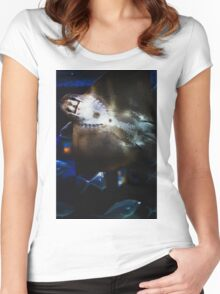 Bottom Of A Ray Fish Women's Fitted Scoop T-Shirt