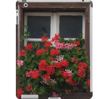Red And Pink Pelargonium  iPad Case/Skin