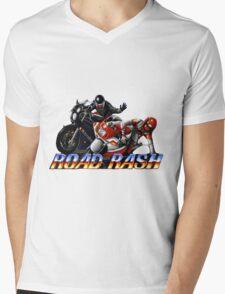 Road Rash - Graphic  Mens V-Neck T-Shirt