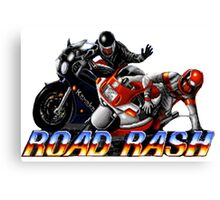 Road Rash - Graphic  Canvas Print