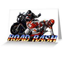 Road Rash - Graphic  Greeting Card