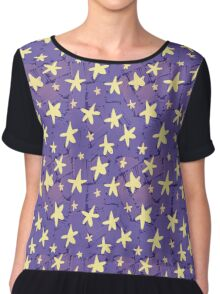Cute Stars by VIXTOPHER Chiffon Top