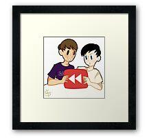 Youtube Rewind Framed Print