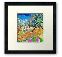 River Valley by Roger Pickar, Goofy America Framed Print