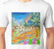River Valley by Roger Pickar, Goofy America Unisex T-Shirt