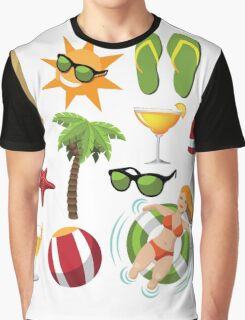 Everything you need for summer fun Graphic T-Shirt